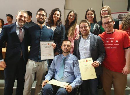 """Contamination Lab: Premio Business Idea agli studenti dell'I.I.S. """"Cuppari-Salvati"""""""